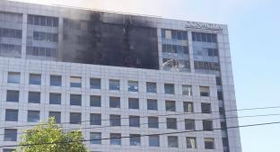 Se incendia el edificio de Conagua, en CDMX. Noticias en tiempo real
