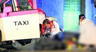 Copiloto asesino ejecuta de dos plomazos a taxista, en CDMX. Noticias en tiempo real