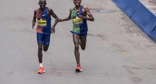 El dramático final del Maratón de Boston del que todos hablan. Noticias en tiempo real