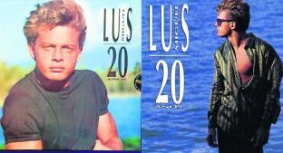 El disco 'Luis Miguel 20 años' cumple su aniversario número 29. Noticias en tiempo real