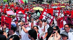 Toman las calles contra nueva ley de extradición, en China. Noticias en tiempo real