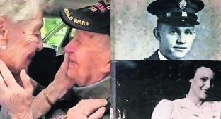 ¡Como una película de amor! Abuelitos reviven romance 75 años después. Noticias en tiempo real
