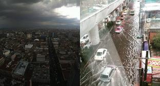 Encharcamientos e inundaciones, así terminó la CDMX tras las intensas lluvias. Noticias en tiempo real