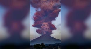 Volcán Popocatépetl despierta con potente explosión, advierten caída de ceniza . Noticias en tiempo real