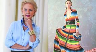 Carolina Herrera libra demanda tras usar sarape de Saltillo en sus diseños . Noticias en tiempo real