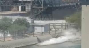Grupo México derrama 3 mil litros de ácido sulfúrico en el mar, en Sonora. Noticias en tiempo real