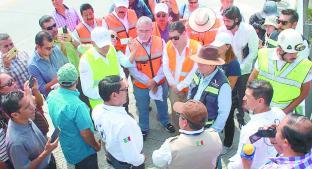 La CNDH alertó que el paso Exprés aún es inseguro, en Morelos. Noticias en tiempo real