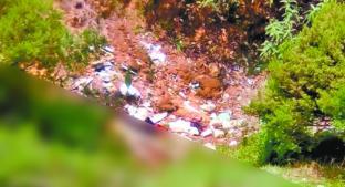 Pobladores hallan cadáver desnudo de chica al fondo de barranco en Atizapán. Noticias en tiempo real