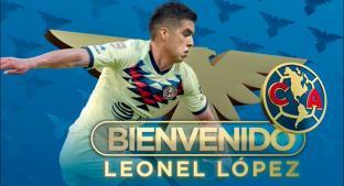 Leonel López se convierte en nuevo jugador del América. Noticias en tiempo real