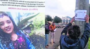 Brenda se subió a un taxi en la carretera Toluca-Valle de Bravo; nunca llegó a su destino . Noticias en tiempo real