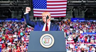 Donald Trump da a conocer su nuevo plan migratorio en Washington . Noticias en tiempo real
