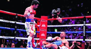 Manny Pacquiao derrota a Keith Thurman y se convierte en supercampeón de la AMB a sus 40 años . Noticias en tiempo real
