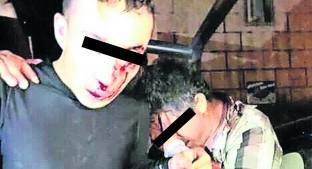 Propinan brutal golpiza a dos presuntos robacoches, en Tenancingo. Noticias en tiempo real