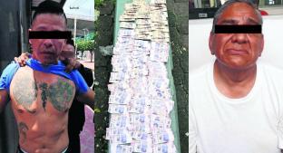 Apañan a dos asaltantes en la Narvarte, por robar 121 mil pesos a cuentahabientes. Noticias en tiempo real