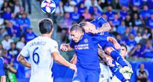 Cruz Azul logró vencer al Galaxy y avanza a la final de la Leagues Cup. Noticias en tiempo real