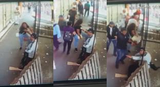 VIDEO: Así asesinaron a un presunto comerciante en La Merced, a plena luz del día. Noticias en tiempo real