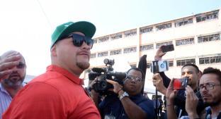 Andy Ruiz visitó penal de Topo Chico. Noticias en tiempo real