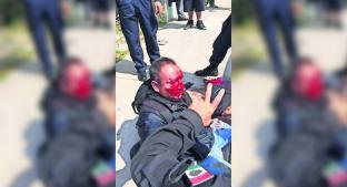 Pasajeros de camión golpean a delincuente que trataba de asaltarlos, en Coacalco. Noticias en tiempo real