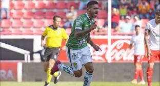 León vence al Necaxa con triplete de Ismael Sosa. Noticias en tiempo real