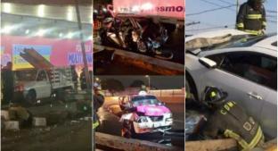 Los accidentes más impactantes que han ocurrido en el Circuito Interio, de la CDMX. Noticias en tiempo real