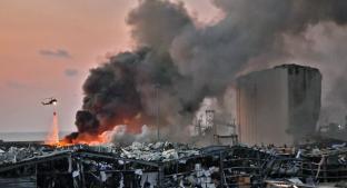 Toneladas de nitrato de amonio causaron explosión en Beirut; resumen del terror que aún permanece. Noticias en tiempo real