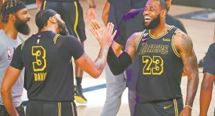 Lakers vencen a Nuggets con triple de Anthony Davis, es el nuevo héroe del equipo. Noticias en tiempo real