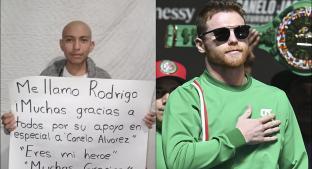 Canelo Álvarez hace donación en apoyo a niños con cáncer. Noticias en tiempo real