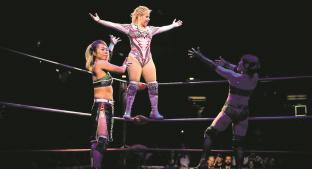 Princesa Sugehit confía en destronar a Marcela, la campeona del CMLL. Noticias en tiempo real