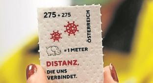 Austria imprime una estampilla para recordar el Covid-19 en papel higiénico. Noticias en tiempo real