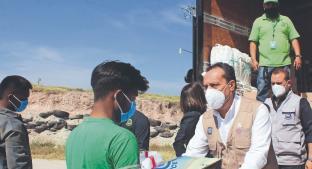 Gobierno de Morelos entrega botas y cubrebocas a trabajadores de rellenos sanitarios. Noticias en tiempo real