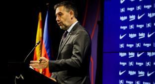 Josep María Bartomeu renuncia como presidente del Barcelona. Noticias en tiempo real