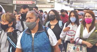 Metro Pantitlán y Mercado de San Juan, los principales focos de contagio de Covid en CDMX