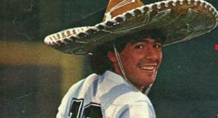 El amor de Diego Armando Maradona por México. Noticias en tiempo real