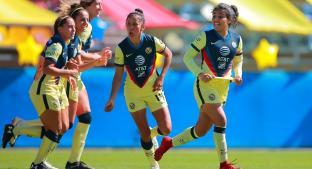 América se lleva la ventaja frente a Chivas en la Liga Femenil. Noticias en tiempo real