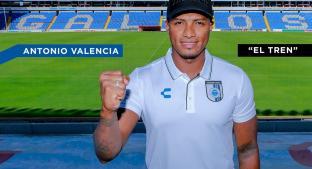 Querétaro oficializa la llegada de Antonio Valencia. Noticias en tiempo real