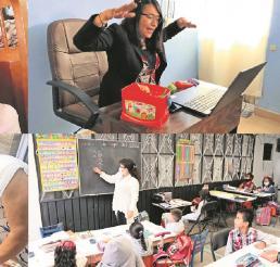 Pandemia no detuvo a los maestros, ellos siguieron formando a los pequeños desde casa