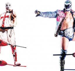 Templario y Titán chocan en la final de la 'Leyenda de Plata', hoy en la Arena México