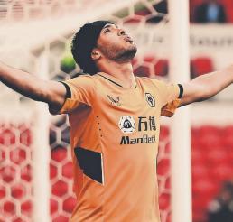 Raúl Jiménez ya está listo y sano para regresar con los Wolves, en la Liga Premier
