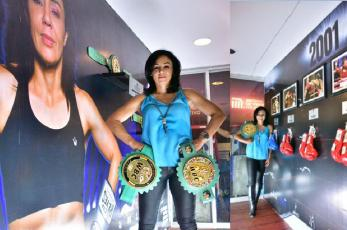 Jackie Nava inaugura exposición fotográfica en la estación del Metro Garibaldi