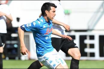 Chucky Lozano anota en la goleada del Napoli al Udinese