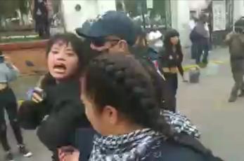 Denuncian detención de feministas durante protesta en Chicoloapan, Estado de México