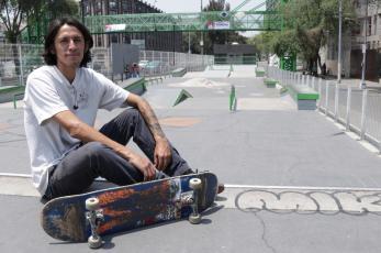 Jaen Jonathan quiere representar a México en la primera competencia de skate