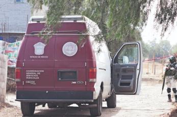 Así mataron y encontraron a mamá con sus dos hijos menores en Chicoloapan, Edomex