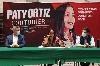 Candidata de Morena-PT-PVEM promete internet gratis en la alcaldía Magdalena Contreras