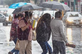 ¡Lleva el paraguas hasta al baño! Pronóstico del clima para toda la semana en Valle de México