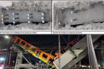 Revelan resultados de Fase 1 de peritaje tras colapso de L12 del Metro, hallan irregularidades