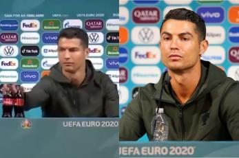 Tras desprecio de Cristiano Ronaldo a Coca Cola, UEFA da jalón de orejas con este mensaje