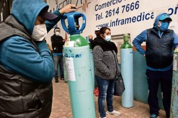 Oaxaqueño con Covid gastó 20 mil pesos en 20 días solo para rellenar su tanque de oxígeno