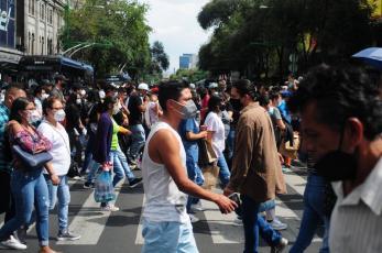 Ciudad de México retrocede a semáforo naranja por Covid, millennials y centennials concentran contagios