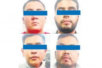 Tras operativo, detienen a 4 policías estatales por presunto acto de extorsión en Edomex
